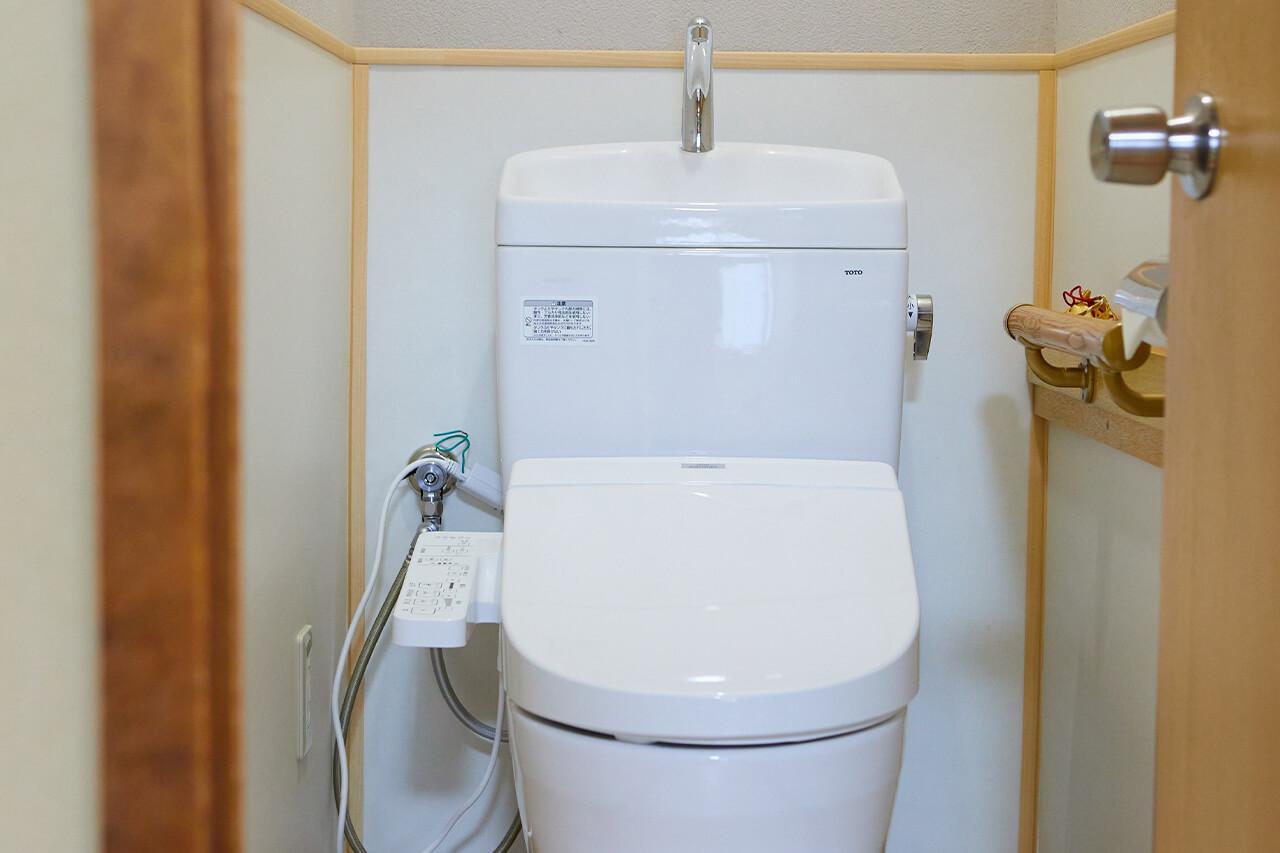 旅館松島客室トイレ