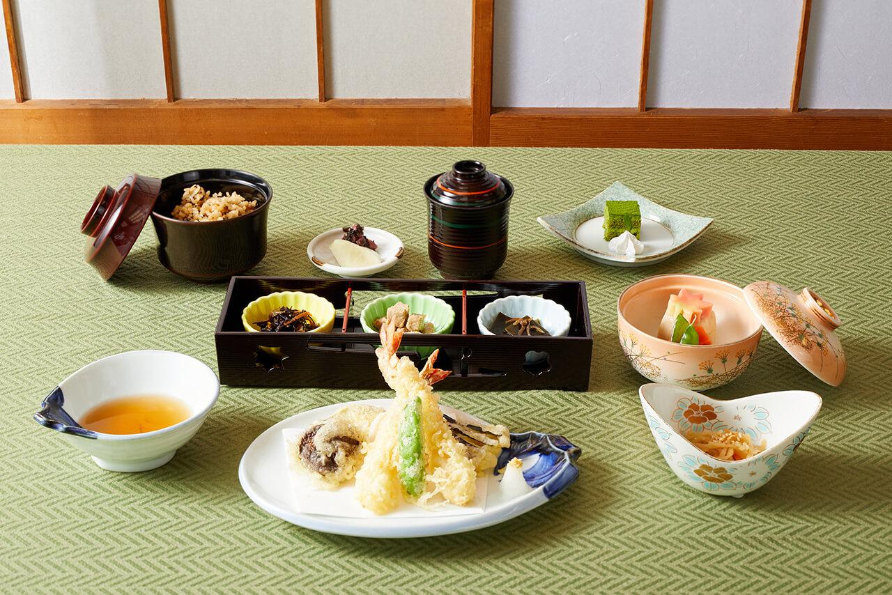 天ぷら膳 / 1,650円