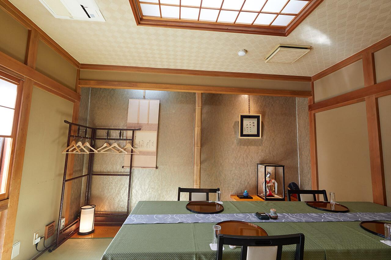 松風苑 個室「桂」