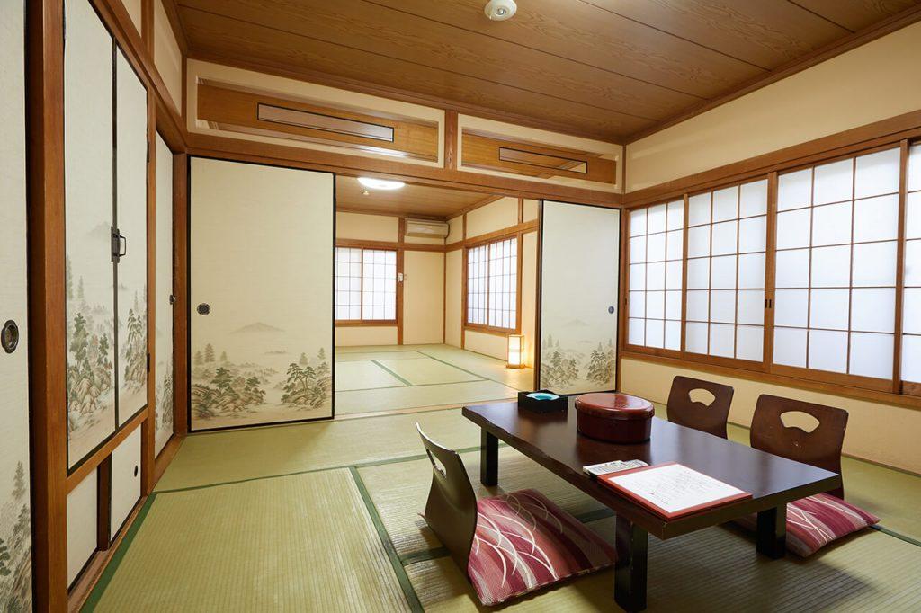 旅館松島客室18畳間