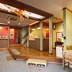 旅館松島エントランス
