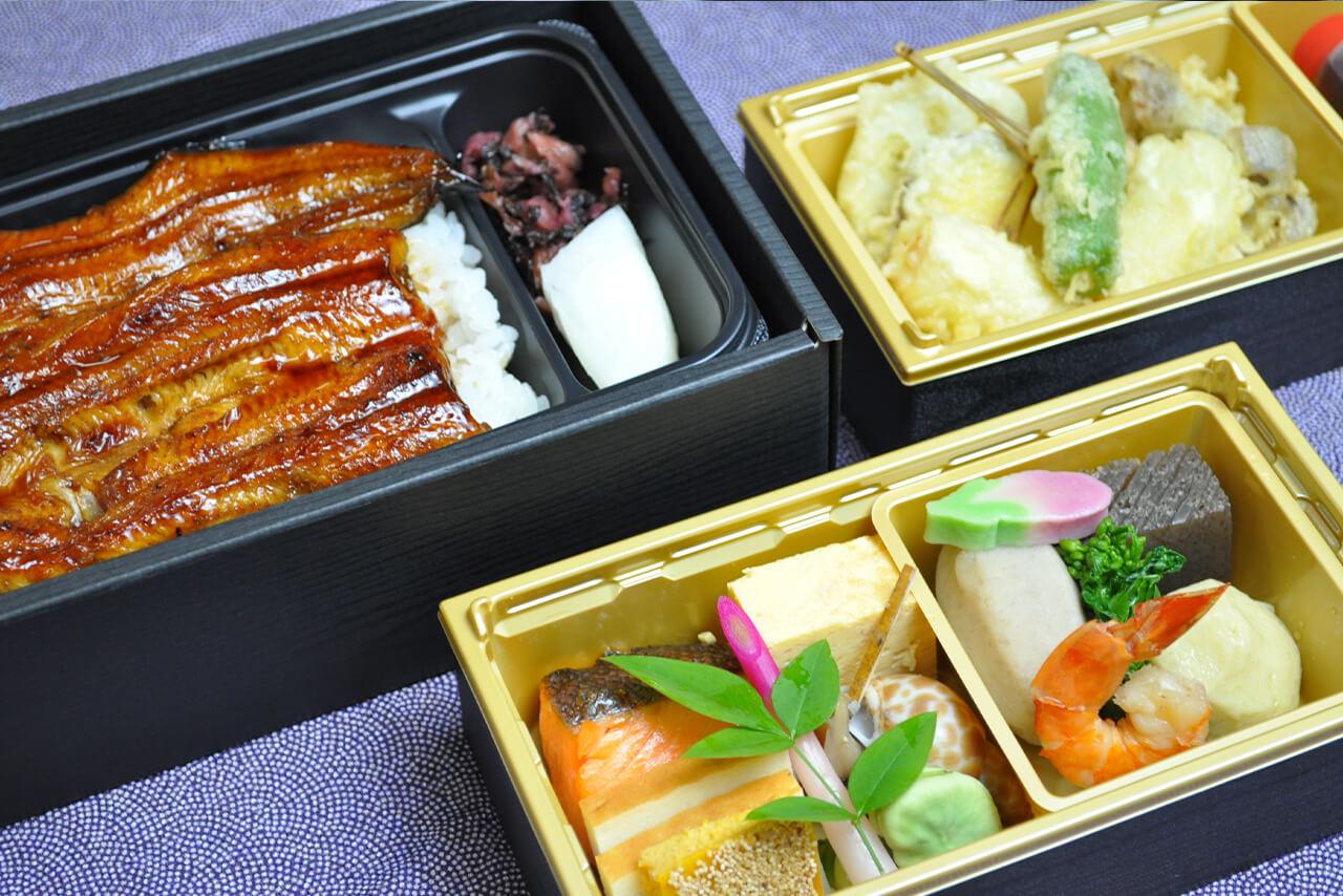 鰻重会席弁当 / 5,800円