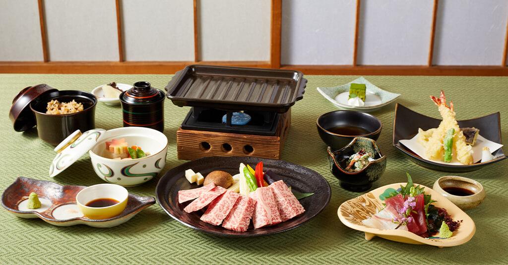 黒毛和牛ステーキ膳 夕食プラン(2食付)